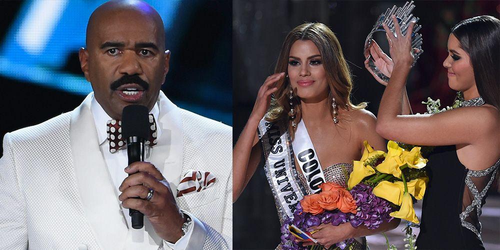 The Untold Story of Steve Harvey's Massive Miss Universe Winner Mistake in 2015