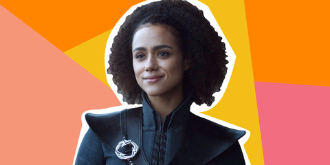 black character on game of thrones