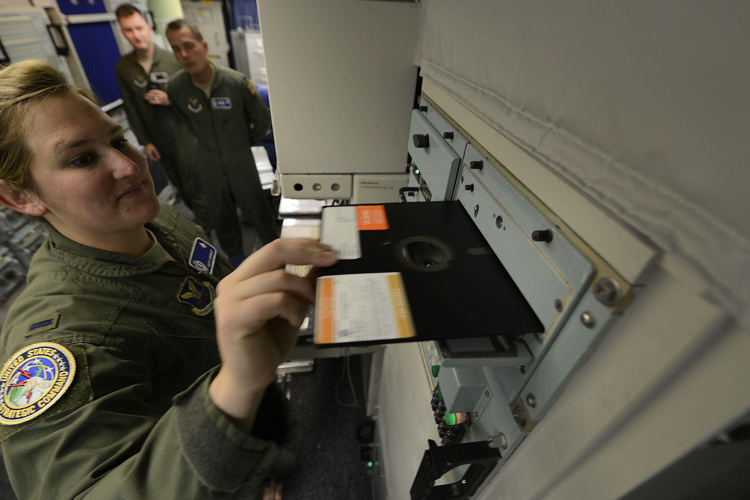 U.S. Air Force Finally Ditches 8-Inch Floppy Disks