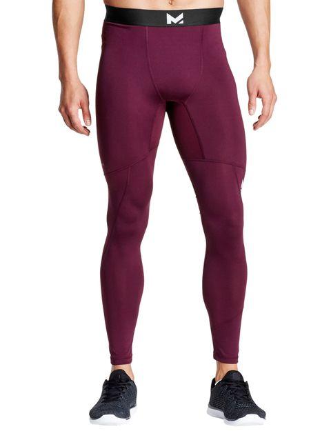 Clothing, Tights, Purple, Sportswear, Leggings, Violet, Pocket, Waist, Active pants, sweatpant,