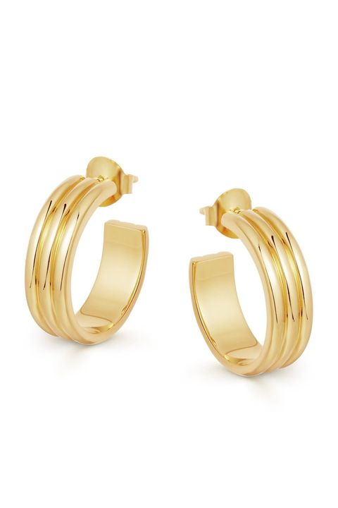 best gold hoops, missoma hoops