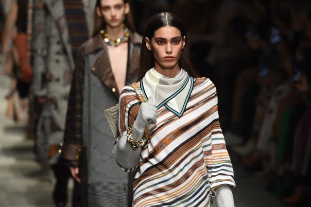 milan, italy   february 22 models walk the runway during the missoni fashion show as part of milan fashion week fallwinter 2020 2021 on february 22, 2020 in milan, italy photo by tullio m pugliagetty images
