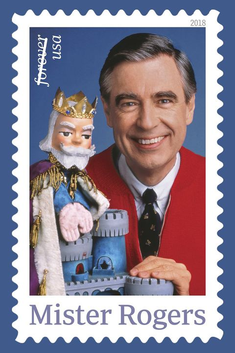 Image result for mister rogers stamp