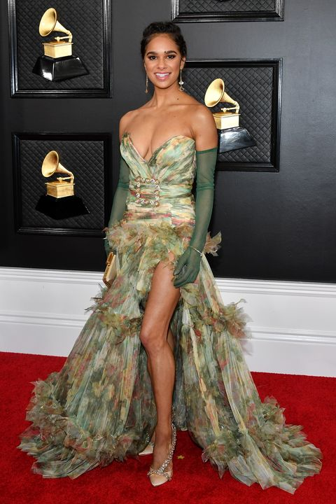 all grammy awards 2020 red carpet celebrity dresses and looks all grammy awards 2020 red carpet