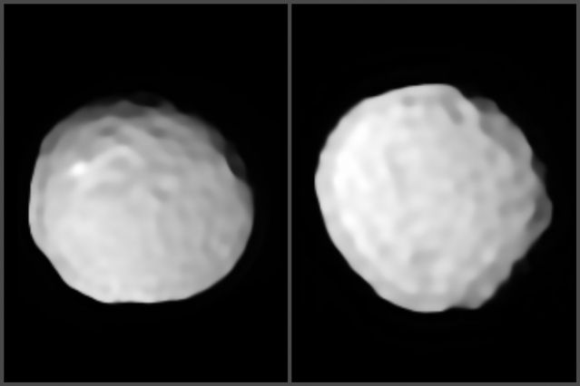 Hey, Doesn't This Asteroid Look Like a Giant Golf Ball?