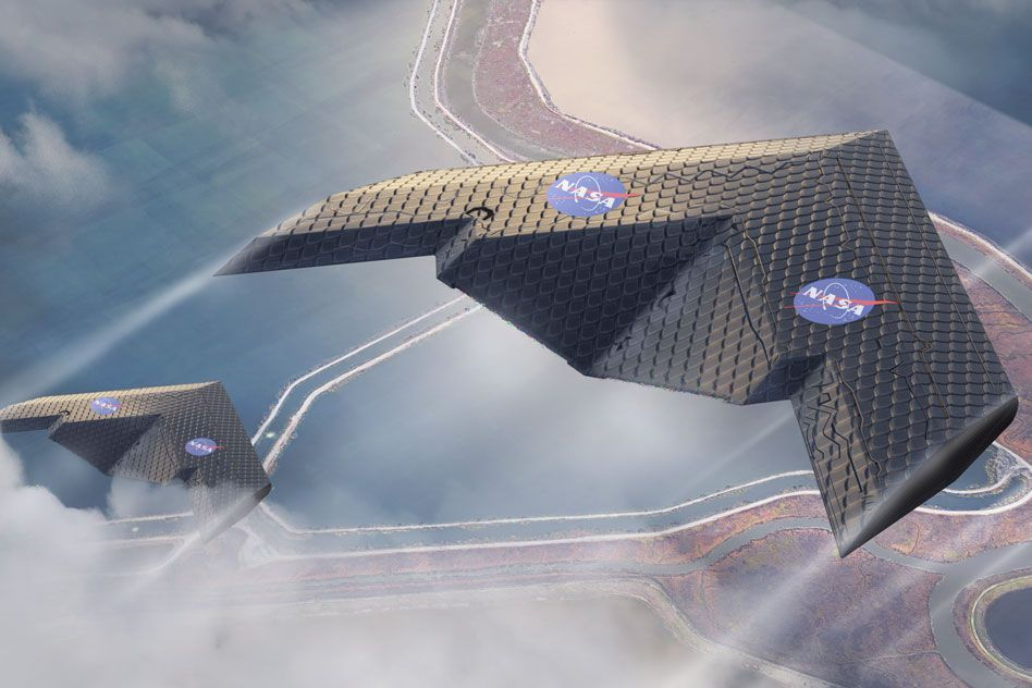 NASA and MIT's Transforming Wing Could Change How Planes Are Built
