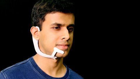 Face, Hair, Cheek, Chin, Nose, Head, Ear, Neck, Jaw, Audio equipment,