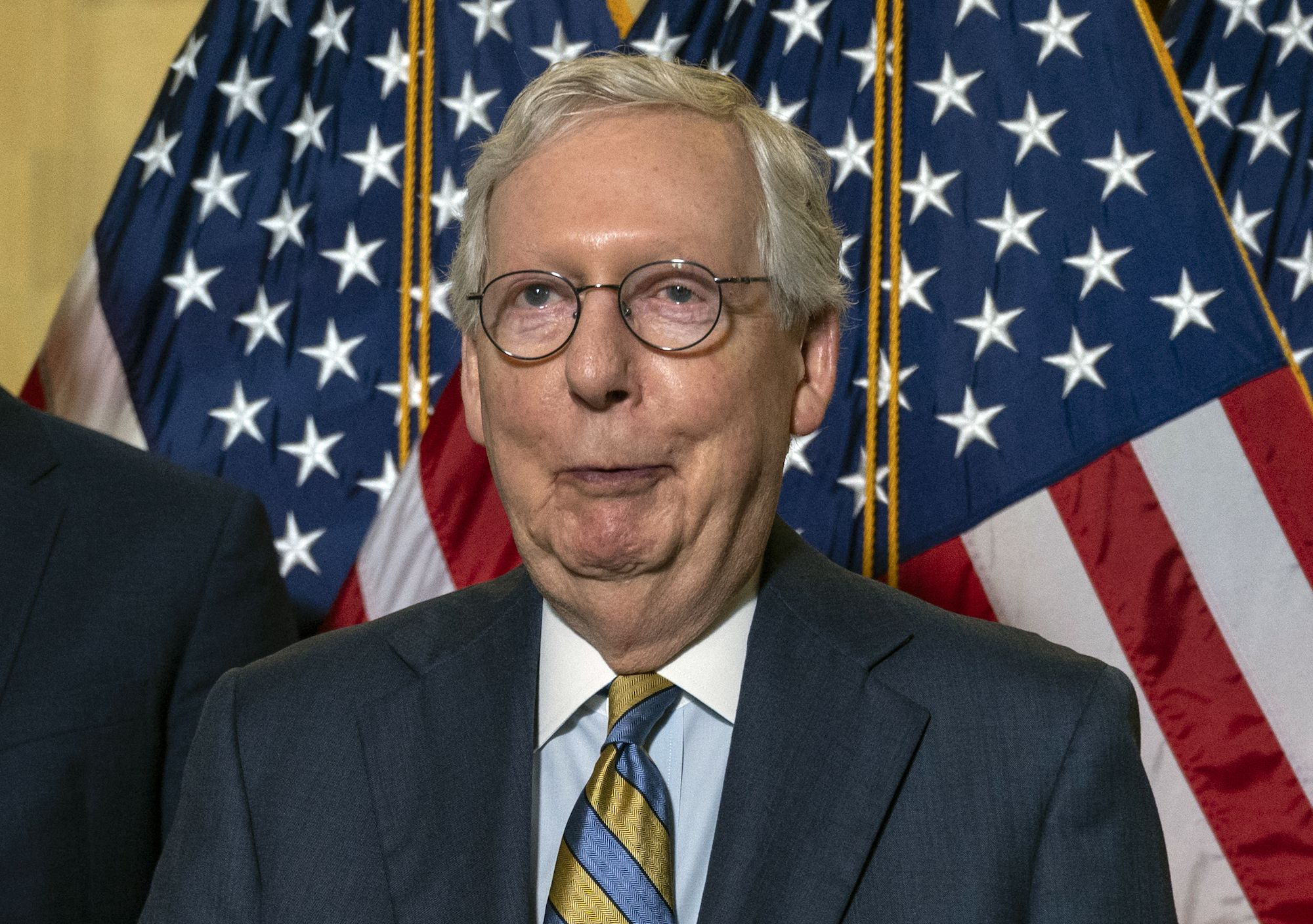 Mitch McConnell Made Full Use of the Senate's Customary Hour of Mischief