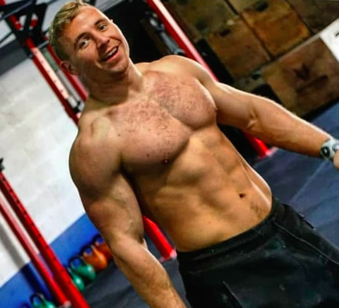 crossfit athlete mitchell adams