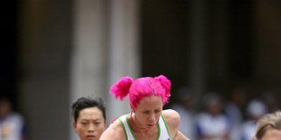 Australian steeplechaser Victoria Mitchell