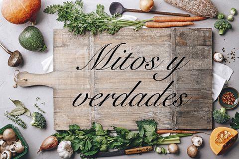 mitos y verdades de alimentación