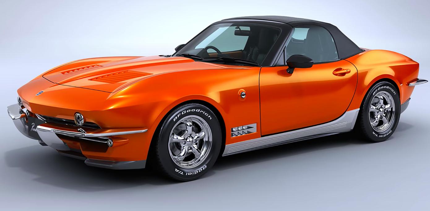 Mitsuoka Rock Star Mx 5 Miata With A Corvette Body