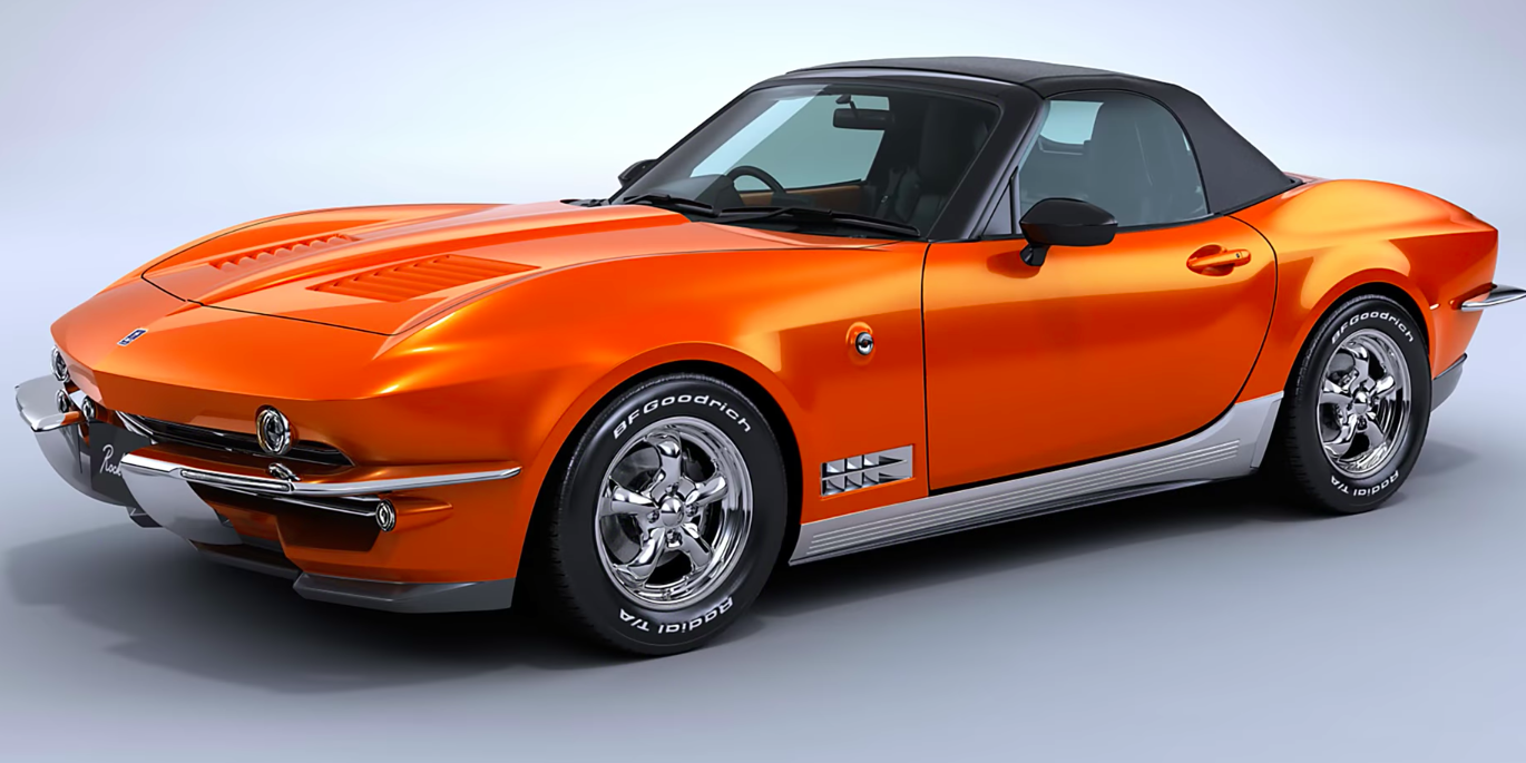 The Mitsuoka Rock Star Is a Miata in a Corvette Stingray's Clothing