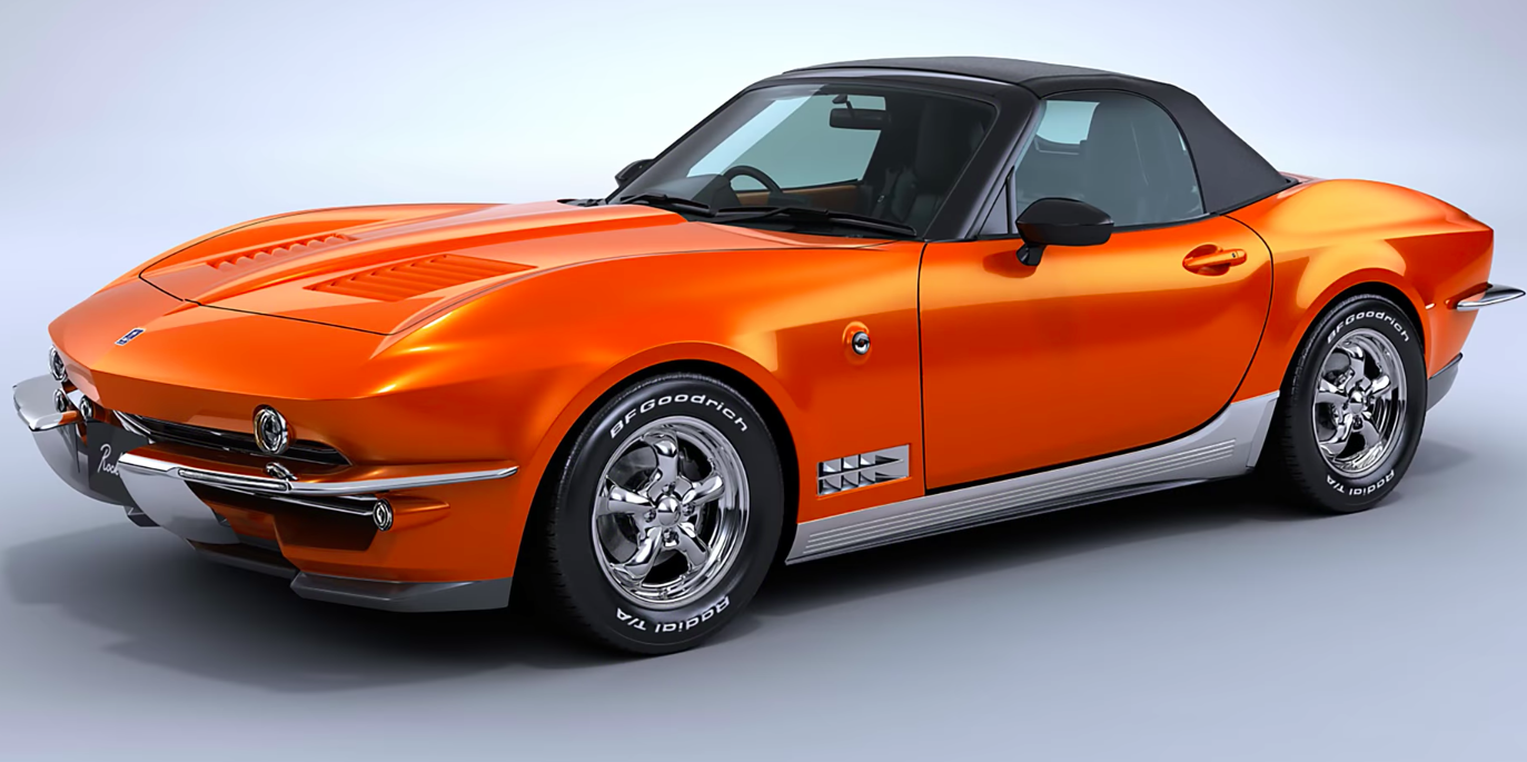 Mitsuoka Rock Star Mx 5 Miata With A Corvette Body