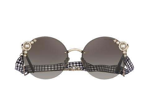 Eyewear, Sunglasses, Glasses, Personal protective equipment, Brassiere, aviator sunglass, Goggles, Vision care, Beige, Undergarment,