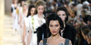 Miu Miu : Runway - Paris Fashion Week - Womenswear Spring Summer 2020