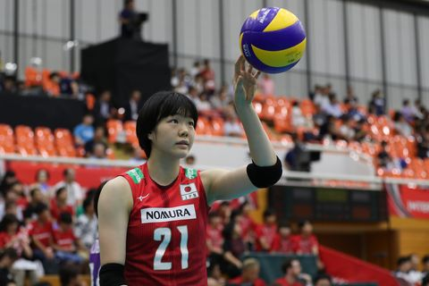 Japan v Chinese Taipei - Women's Volleyball International 長内 美和子