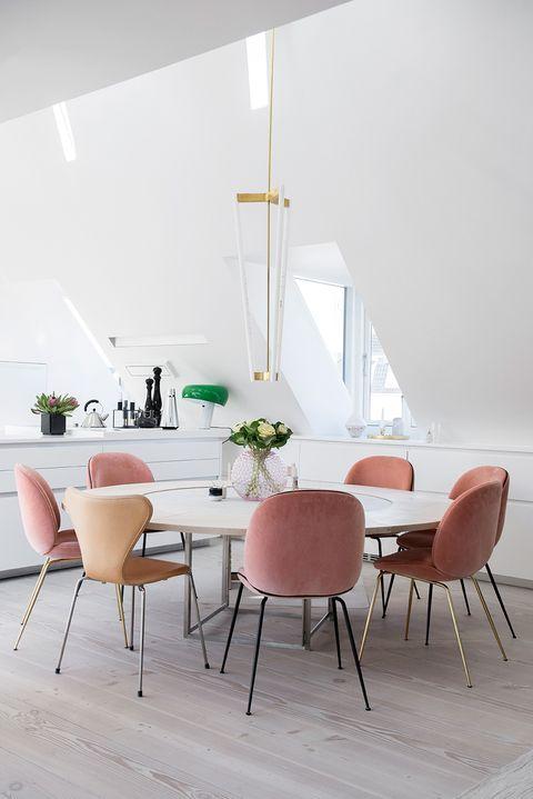 MIX COMEDOR MESAS Y SILLAS Nordic design
