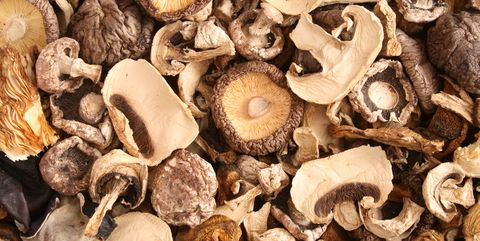 Mixed dried mushrooms