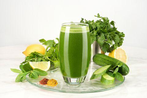 mixed green juice
