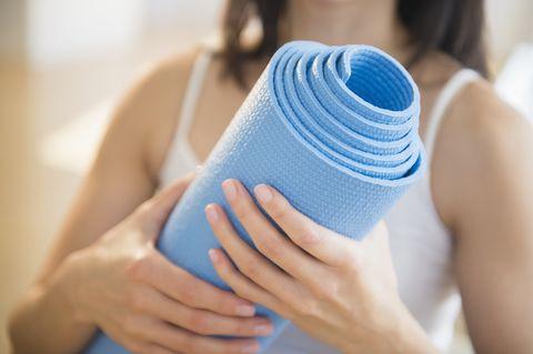 清潔瑜珈墊