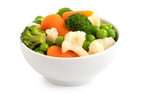 mixed vegetables in bowl