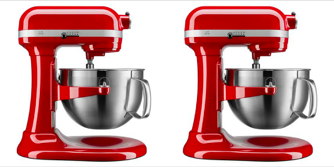 Shop One Of Prime Day's Last Lightening Deals: 50 Percent Off This 6-Quart KitchenAid Stand Mixer