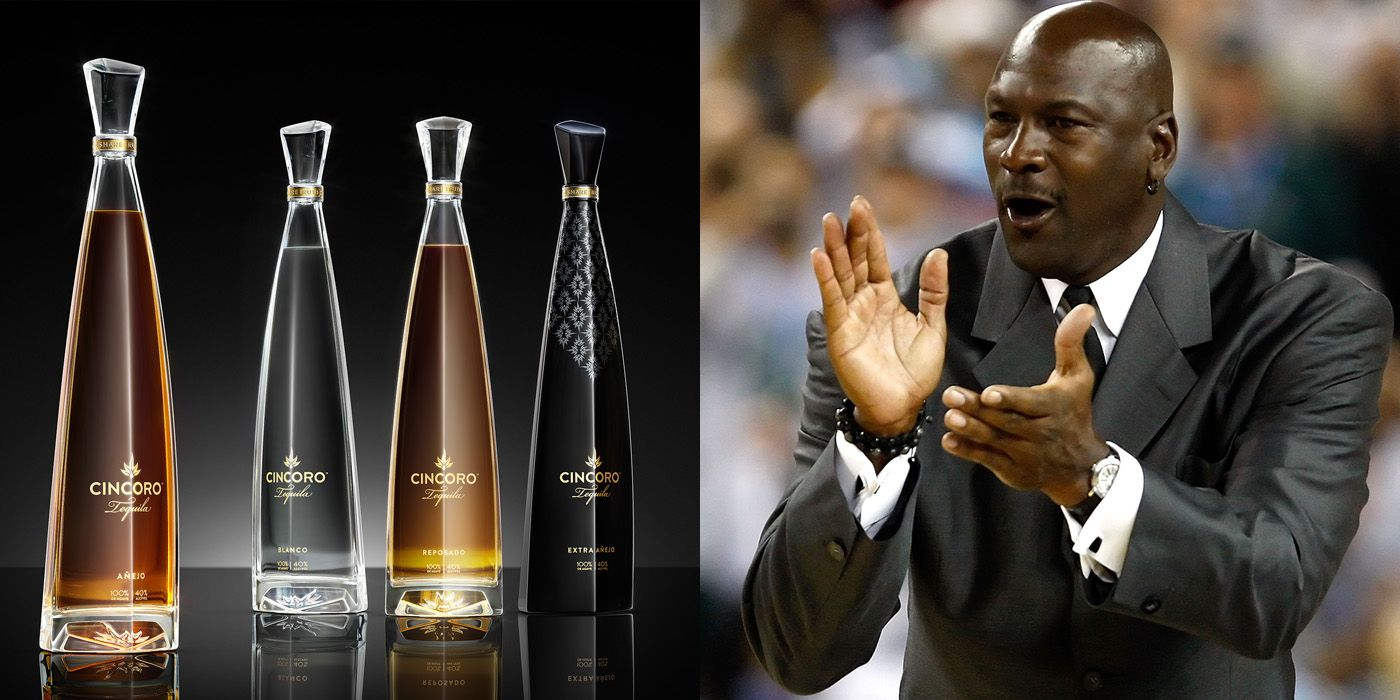 Instantáneamente ayudar Devastar  Michael Jordan Cincoro Ultra Premium Tequila with NBA Partners