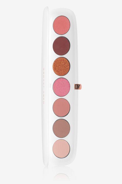 Pink, Design, Material property, Rectangle, Polka dot, Pattern, Circle, Lip gloss,