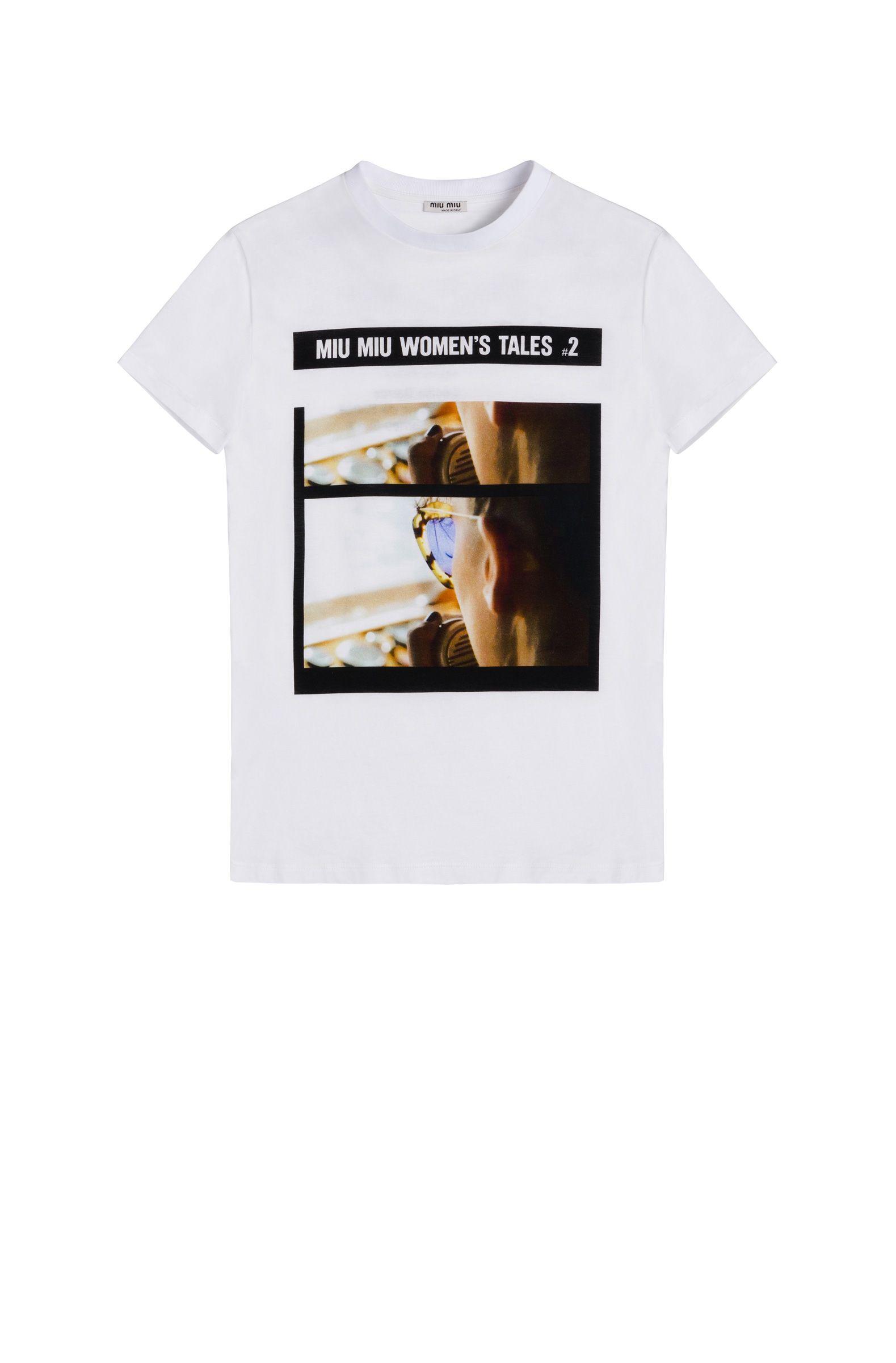 miu miu camisetas