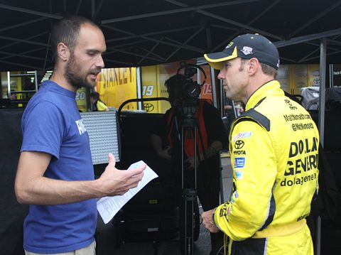 interviewing Matt Kenseth