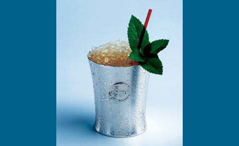 Mix The Perfect Mint Julep