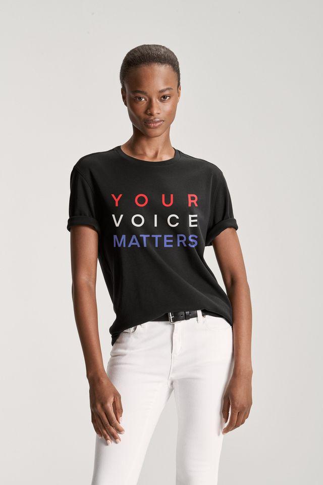 michael kors, your voice matters tee