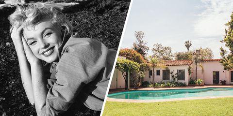 Marilyn Monroe- Brentwood Home