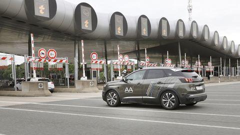 2019 Peugeot 3008 autonomous prototype