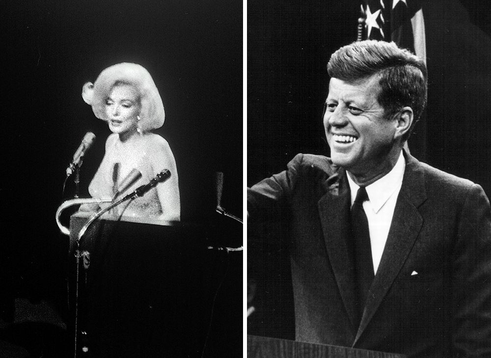 What Happened When Marilyn Monroe Sang Happy Birthday To John F Kennedy