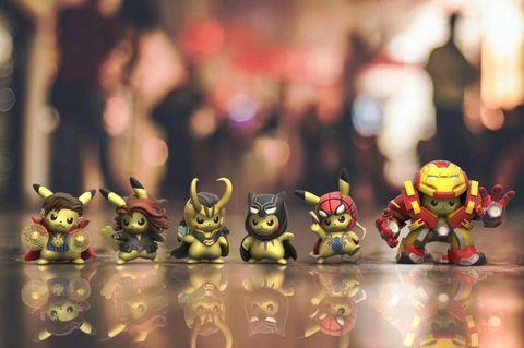 超可愛「皮卡丘 x 復仇者聯盟」系列公仔第二彈開始預購!今天不下單明天就完售了!
