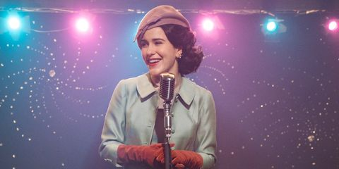 5e8fc0098c7 Rachel Brosnahan Talks About  The Marvelous Mrs. Maisel  Season 2 ...