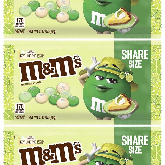 mm's key lime pie white chocolate candies