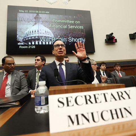 Treasury Secretary Mnuchin Testifies To The House On State Of The International Financial System