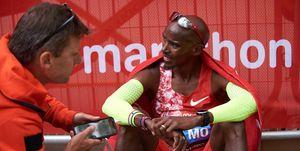 Mo Farah en el Maratón de Londres 2019