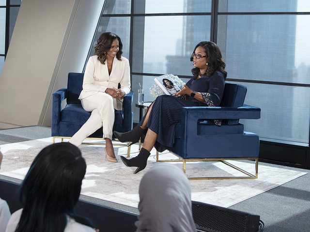 f7cff3d804e Michelle Obama Talks With Oprah About New Memoir