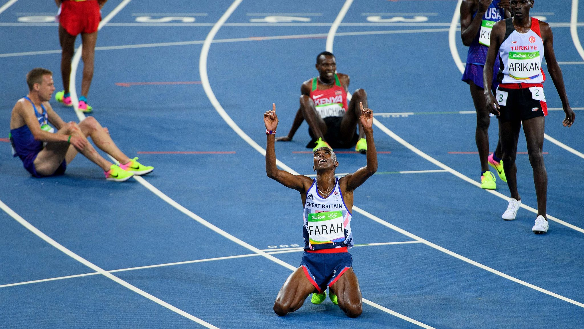 On this day three years ago: Mo Farah won gold in the 10,000m at the Rio Olympics
