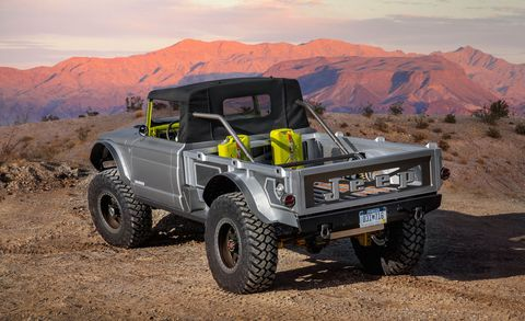 The Jeep Five-Quarter Is Based on 1968 M715 - 2019 Moab ...
