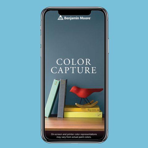 Mejores App de diseño de interiores:  aplicación de captura de color