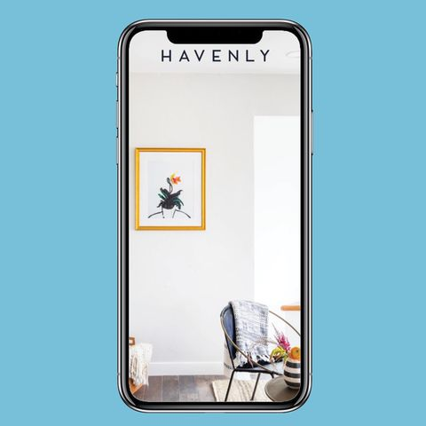 Mejores App de diseño de interiores:  aplicación havenly
