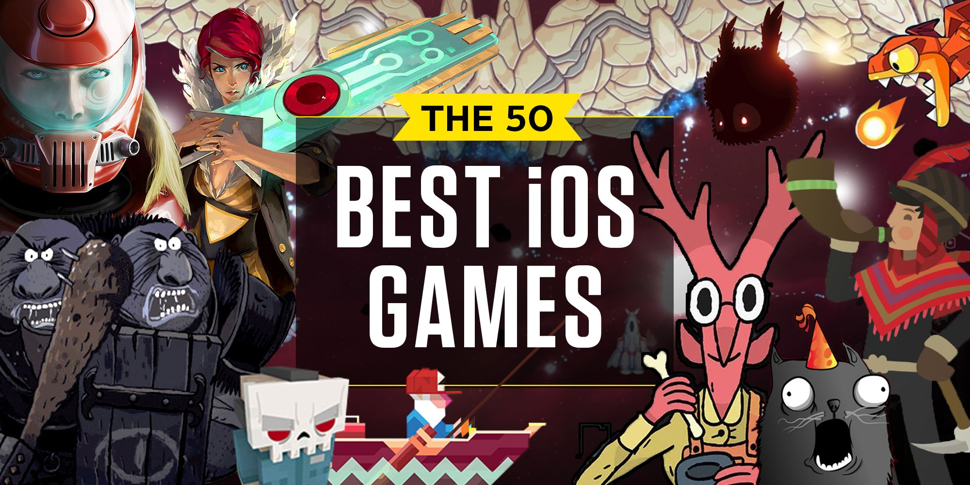 50 iPad and iPhone Games You Should Be Playing Right Now