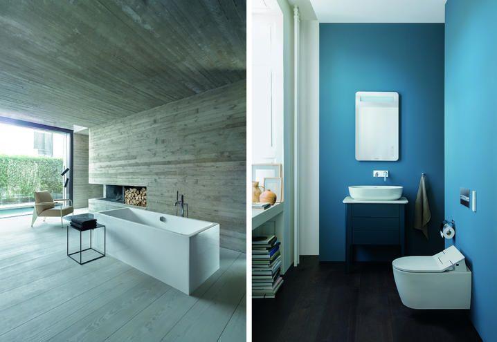 Mobili bagno e sanitari Duravit per un bagno di design