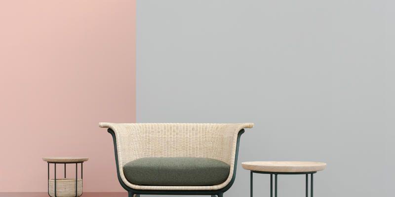 Mobili In Midollino Rattan.Multifunctional Rattan Furniture By Alain Gilles