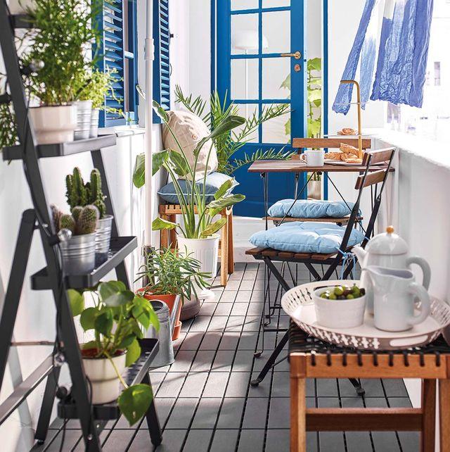 Muebles e ideas para disfrutar tu terraza o jard n - Que es un porche en arquitectura ...